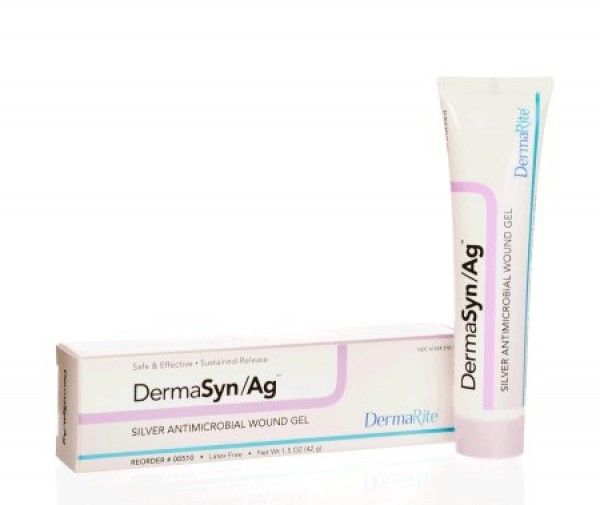 Dermarite Industries DermaSyn Ag Silver Antimicrobial Wound Gel