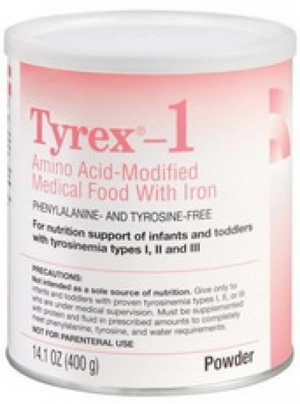 Abbott Nutrition Tyrex 1 Amino Acid-Modified Infant Formula With Iron