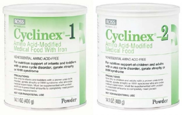 Abbott Nutrition Cyclinex 1 Amino Acid-Modified Infant Formula With Iron