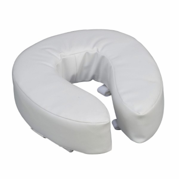 Briggs Healthcare Raised Toilet Seat 4 Inch Cushioned