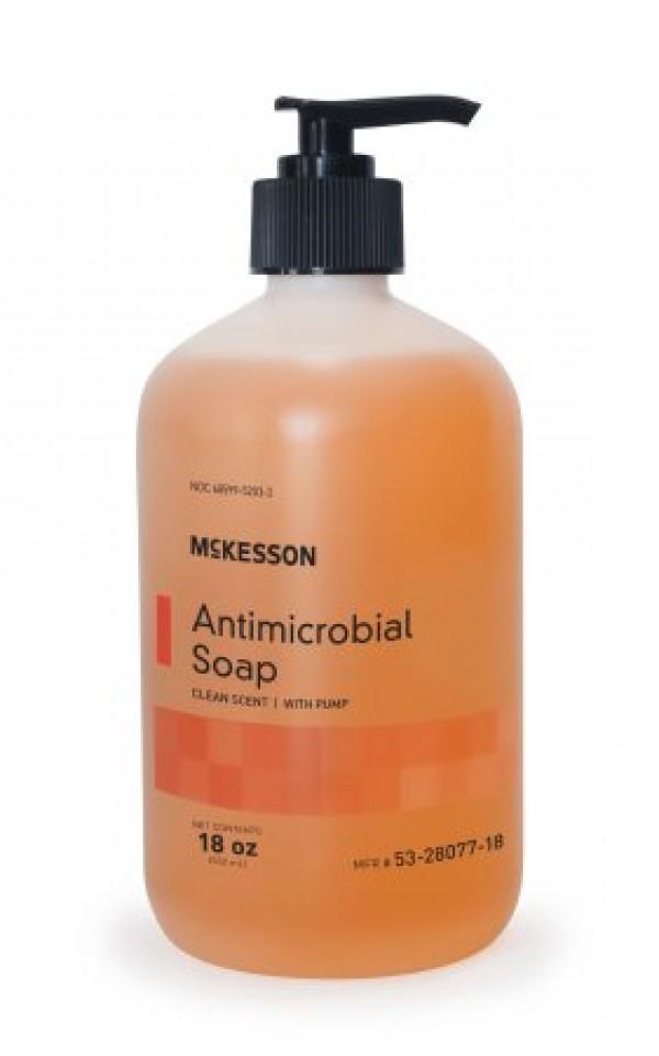 McKesson Antimicrobial Liquid Hand Soap