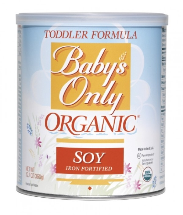 Natures One Babys Only Organic Soy Formula