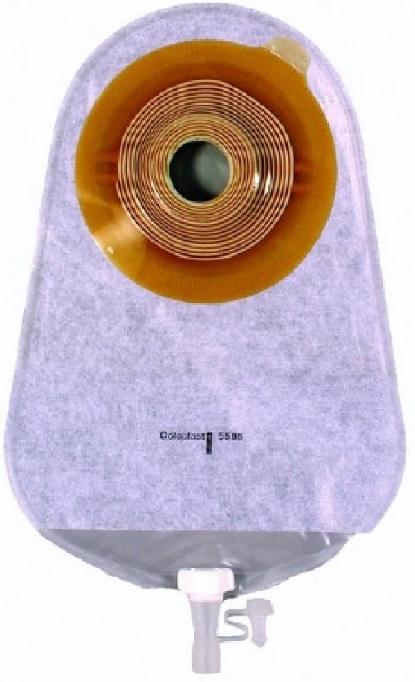Coloplast Standard Wear Midi Urostomy Pouch - Transparent