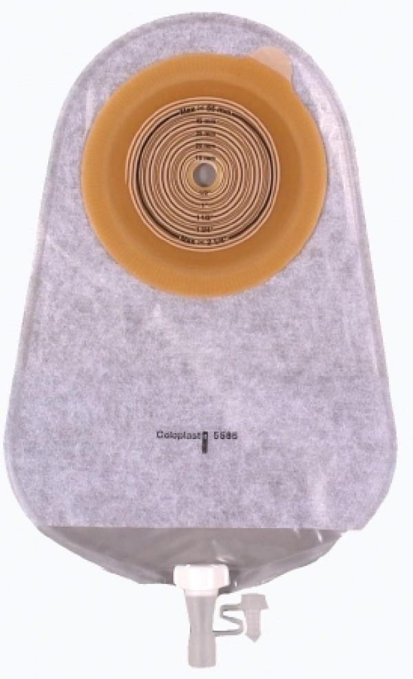 Coloplast 1-Piece Standard Wear MAXI Urostomy Pouch - Transparent
