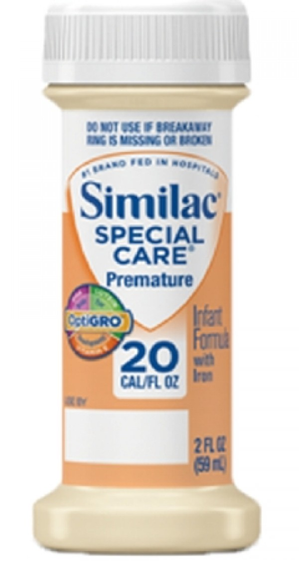 Abbott Nutrition Similac Special Care 20 Premature Infant Formula with Iron