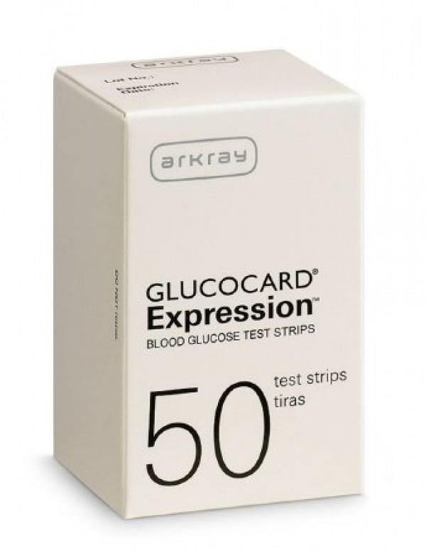 Arkray USA GLUCOCARD Expression Blood Glucose Test Strips