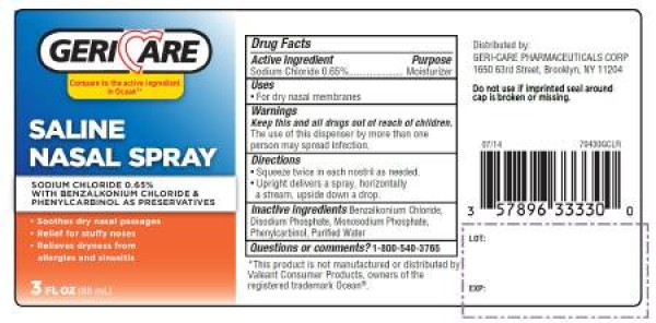 McKesson Saline Nasal Spray