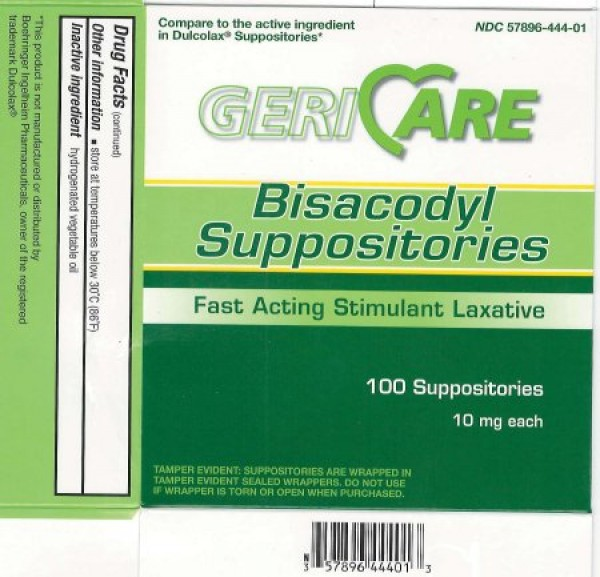 McKesson Bisacodyl Laxative Suppositories - 10mg