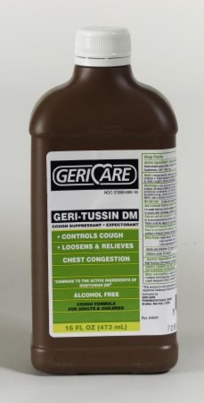 McKesson Geri-Tussin DM Cough Relief Liquid
