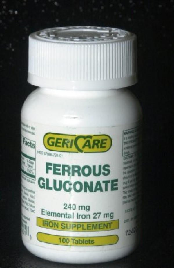 McKesson Ferrous Gluconate Iron Supplement Tablets
