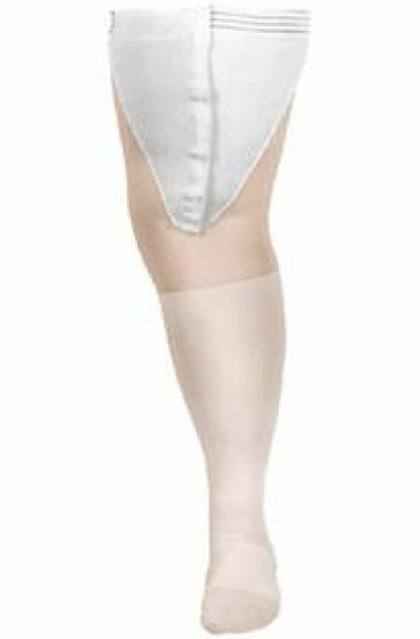 Anti-Embolism CAP Thigh-High Inspection Toe Stockings 18 mmHg by Carolon