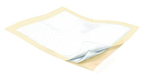Covidien Wings Fluff and Polymer Underpads Extra Heavy Absorbency