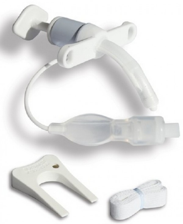 Smiths Medical Bivona TTS Cuffed Pediatric Straight Neck Flange Tracheostomy Tubes