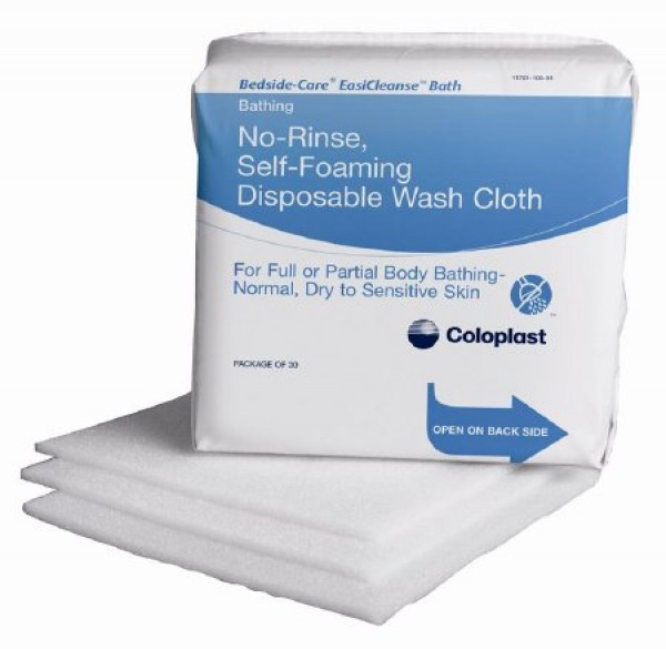 Bedside-Care EasiCleanse Bath Cloths by Coloplast