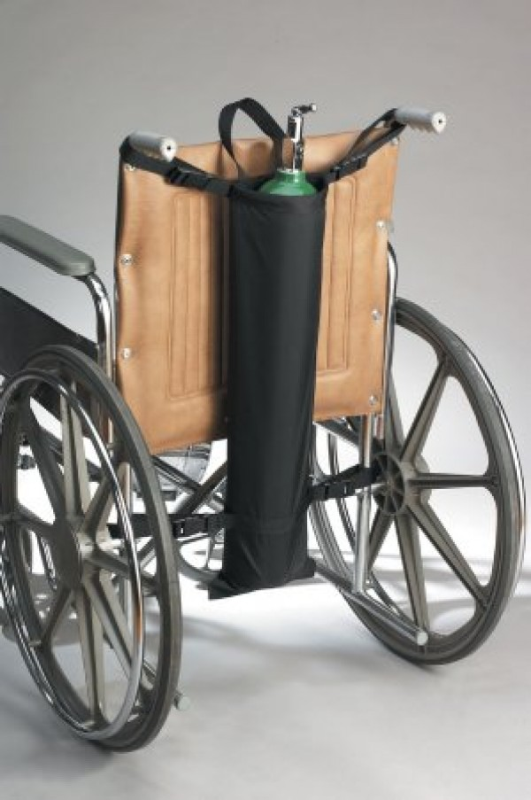 Wheelchair Oxygen Cylinder Holder by Skil-Care