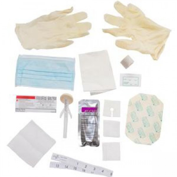 ReliaMed Central Line Dressing Change Kit with Chloraprep