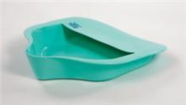 AliMed Bariatric Bed Pan w/ Anti-Splash and Bed Pan Holder