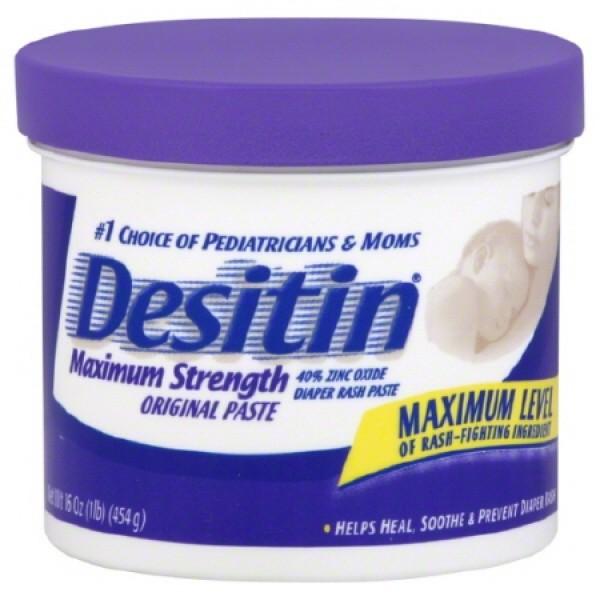 Johnson & Johnson Desitin Diaper Rash Ointment