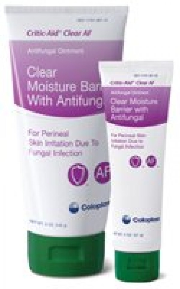 Coloplast Critic-Aid Clear Moisture Barrier with Antifungal Cream