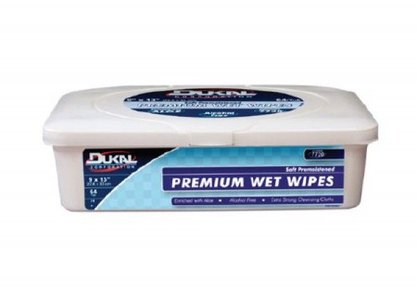 Premium Wet Wipes 48/pk by Dukal