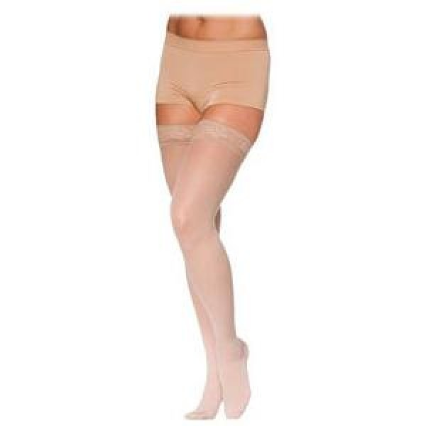 780 Eversheer Women's Thigh High Compression Stockings - 782N OPEN TOE 20-30 mmHg by Sigvaris