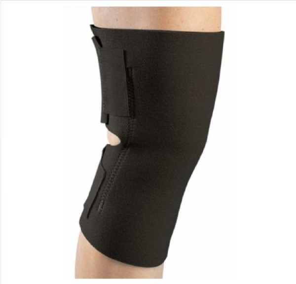 DJ Orthopedics PROCARE Universal Knee Wrap with Patella Opening