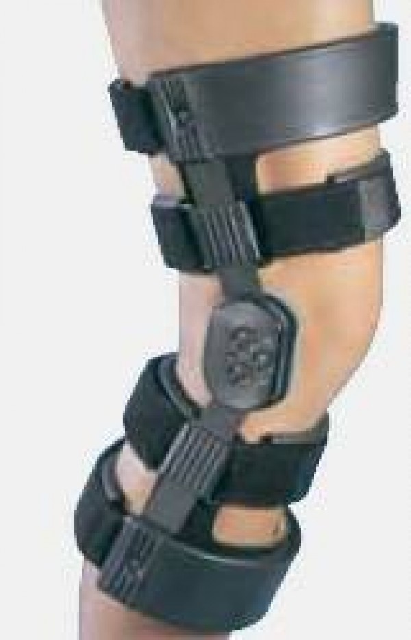 DJ Orthopedics WeekENDER Hinged Knee Recreational Activity Brace