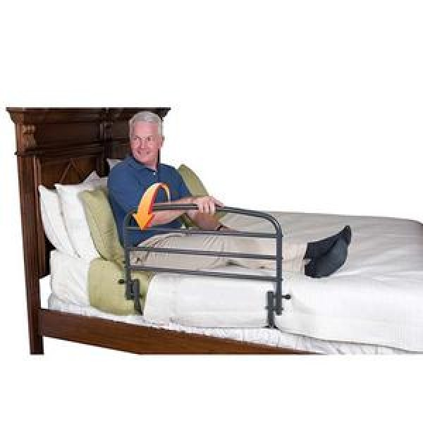 30 Inch Safety Bed Rail & Optional Pouch by Stander