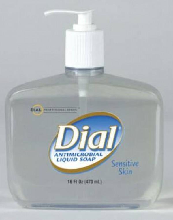 Henkel Dial Sensitive Antimicrobial Liquid Soap