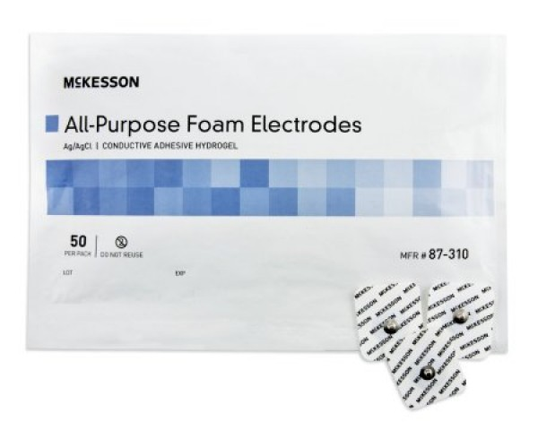 Adult Monitoring Electrode by McKesson