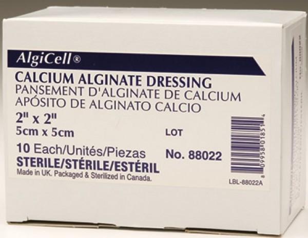 Derma Sciences Algicell Ag Calcium Alginate Dressing with Antimicrobial Silver