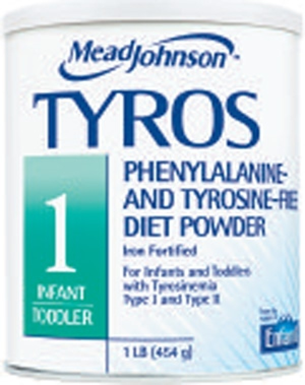 Mead Johnson TYROS 1 Infant to Toddler Medical Food for Tyrosinemia