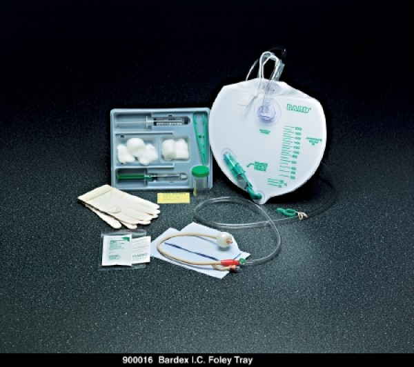 ex I.C. Complete Care Catheter Tray by Bard