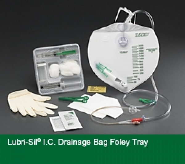 Bard Lubri-Sil Drainage Bag Insertion Trays