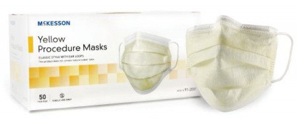 McKesson High Filtration Procedure Mask