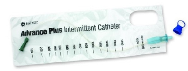 Advance Plus Intermittent Catheter Kit - Cath, Gloves, Drape, Swabs by Hollister