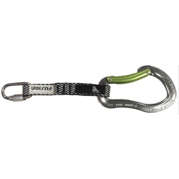 Fusion Quick Link / Techno Zoom Bent Gate Carabiner