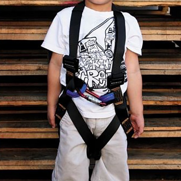 Fusion Warrior Kids Top Rope Climbing Harness