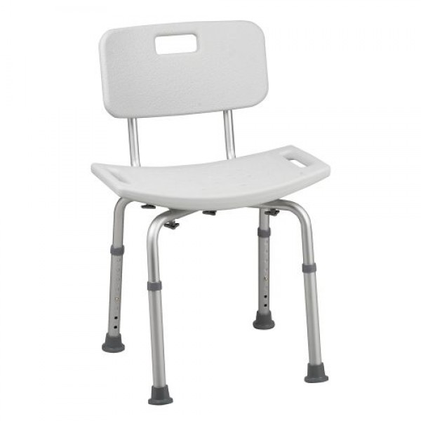 HEALTHSMART Bath Seat with Back and BactiX™