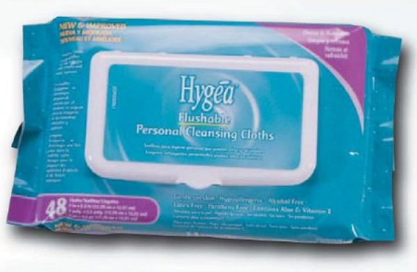 Nice Pak Products Inc Hygea Flushable Wipe