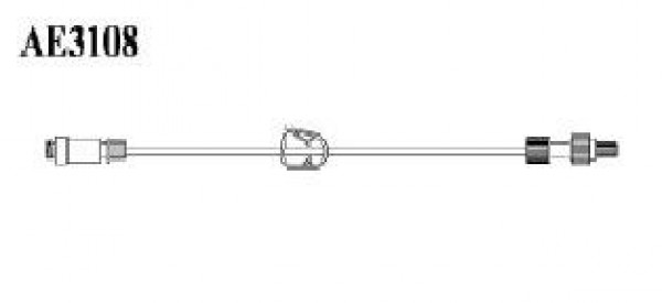 Amsino International Standard Bore Needleless Extension Set