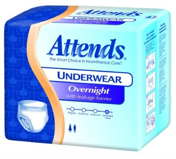 Attends Healthcare Products Attends Discreet Underwear Super Absorbency