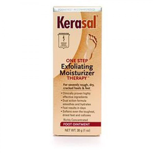 Kerasal Exfoliating Moisturizing Foot Ointment