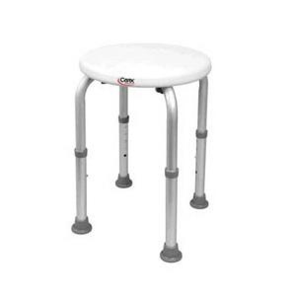 Carex Shower Stool Round