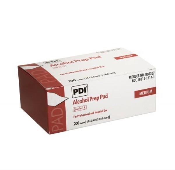 Professional Disposables PDI Alcohol Prep Pad