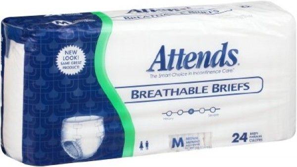 Attends Healthcare Products Attends® Breathable Briefs with Heavy Absorbency