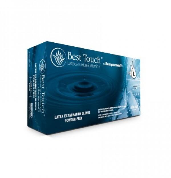 Sempermed Best Touch Latex Exam Gloves Powder Free - NonSterile