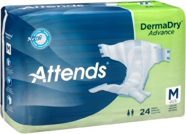 Attends Healthcare Products Attends Advanced DermaDry Technology Brief Heavy Absorbency