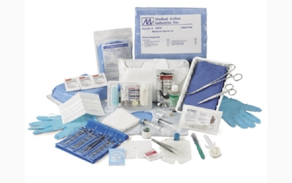 ReliaMed Central Line Dressing Change Kit with Opsite