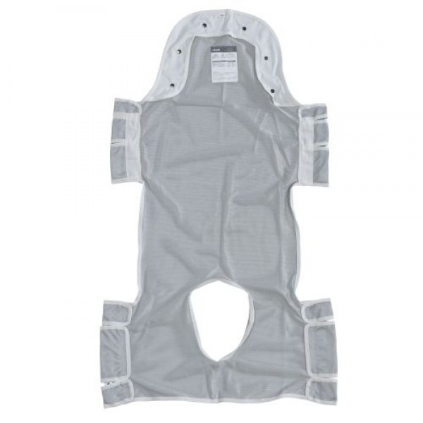 Drive Patient Commode Lift Sling with Head Support